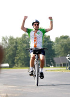 New Albany Pelotonia 50 mile Finish